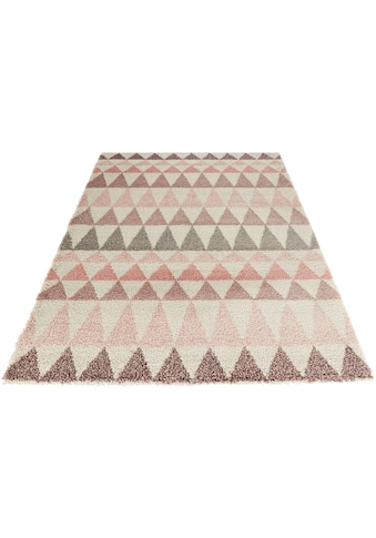 MINT RUGS Hochflor-Teppich »Triangle«, rechteckig, 35 mm Höhe, besonders weich durch... kaufen