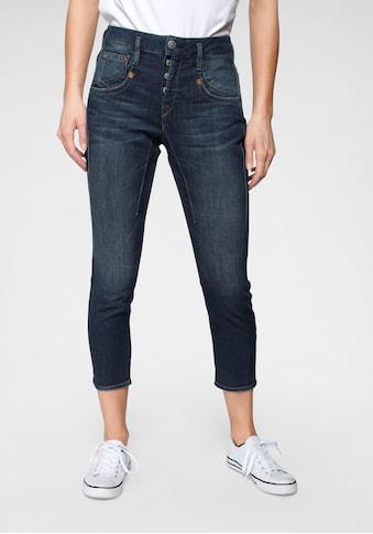 Herrlicher 7/8-Jeans »SHYRA CROPPED«, Black Denim Cashmere Touch kaufen