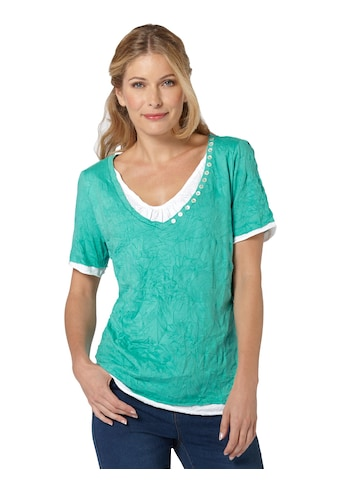 Inspirationen 2 - in - 1 - Shirt in Crash - Optik kaufen