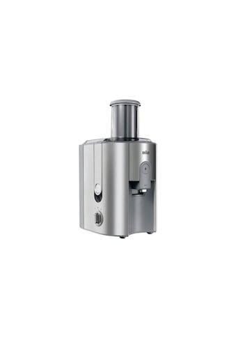 Entsafter, Braun, »Multiquick J700, Silberfarben« kaufen