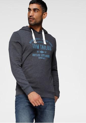 TOM TAILOR Hoodie, mit Front Print kaufen