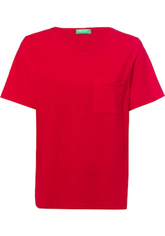 United Colors of Benetton T-Shirt, in cooler Basic-Form kaufen