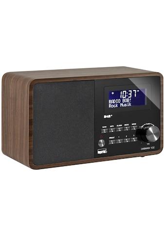 IMPERIAL Digitalradio (DAB+) »Dabman 100 Braun«, (CD Digitalradio (DAB+)-FM-Tuner ) kaufen