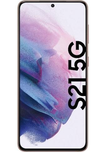 """Samsung Smartphone »Galaxy S21«, (15,84 cm/6,2 """" 128 GB Speicherplatz, 64 MP Kamera), 128GB silver 5G kaufen"""