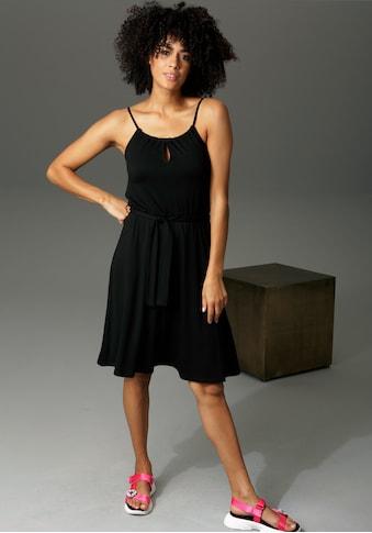 Aniston CASUAL Sommerkleid, mit Spaghetti-Trägern kaufen