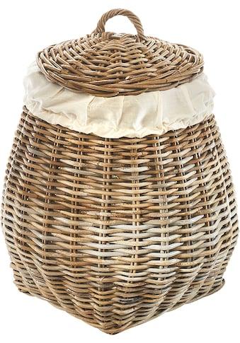 locker Wäschetruhe »Pear«, mit abnehmbarem Deckel kaufen