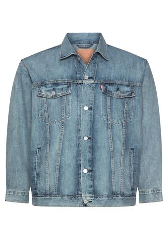 Levi's® Plus Jeansjacke »Big Trucker«, mit Ziernähten kaufen