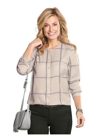Classic Basics Bluse im beliebten Karo - Muster kaufen