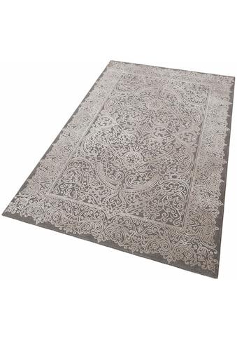 merinos Teppich »Naomi«, rechteckig, 12 mm Höhe, Vintage Design, Hoch-Tief-Effekt,... kaufen