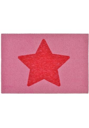 Fussmatte, »Stern«, Zala Living, rechteckig, Höhe 7 mm, maschinell gewebt kaufen