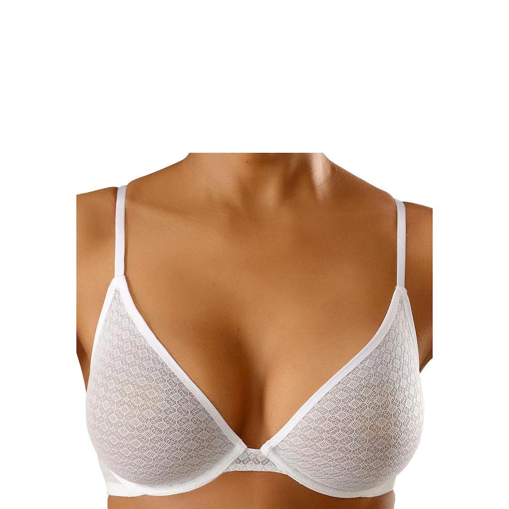 petite fleur T-Shirt-BH, mit Bügel aus transparentem Material