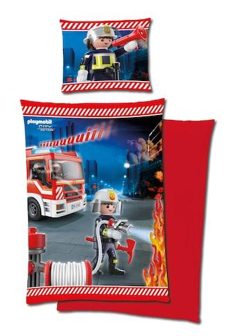 Renforcé - Bettwäsche »Playmobil Feuerwehr« kaufen
