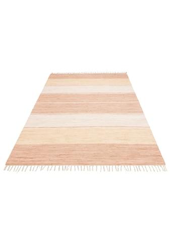 andas Teppich »Melina«, rechteckig, 5 mm Höhe, handgewebt, waschbar bei 30 Grad,... kaufen