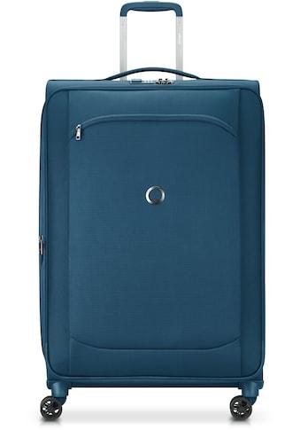 Delsey Weichgepäck-Trolley »Montmartre Air 2.0, 68 cm, blue«, 4 Rollen, mit Volumenerweiterung kaufen