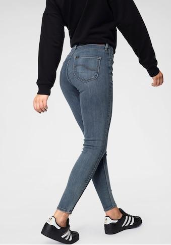Lee® Skinny-fit-Jeans »Scarlett High«, mit Zipper am Saum kaufen