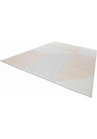 MINT RUGS Teppich »Glaze«, rechteckig, 9 mm Höhe, Velours, Wohnzimmer kaufen