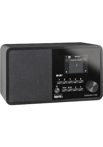 IMPERIAL Internet-Radio »Dabman i150 Schwarz«, (WLAN Digitalradio... kaufen