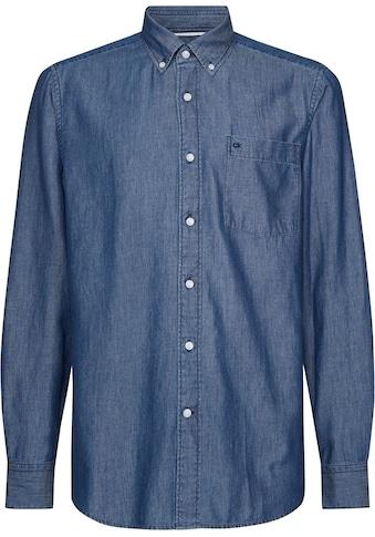 Calvin Klein Jeanshemd »BUTTON DOWN LIGHT DENIM SHIRT« kaufen