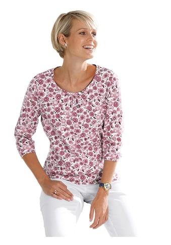 Classic Basics Shirt im wunderschönen, floralen Dessin kaufen