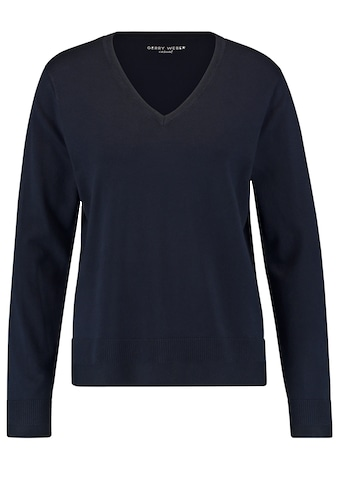 GERRY WEBER V - Ausschnitt - Pullover »Pullover mit V - Ausschnitt« kaufen
