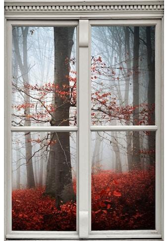 queence Wandsticker »Wald in Herbst« kaufen