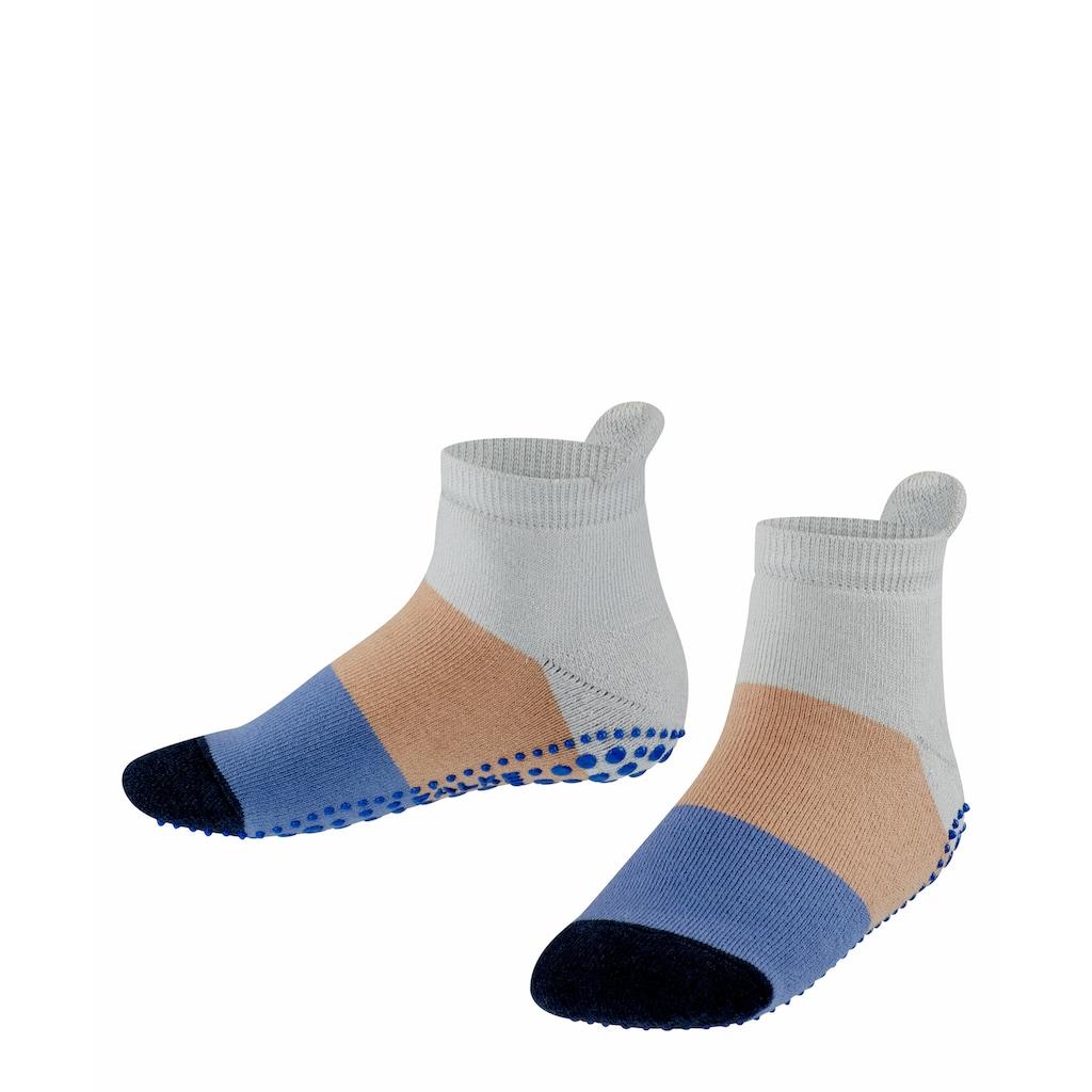 FALKE Haussocken »Colour Block«, (1 Paar), für direkten Schuhkontakt