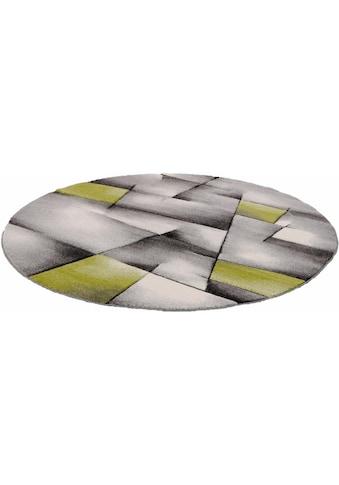 Teppich, »BRILLIANCE«, merinos, rund, Höhe 13 mm, maschinell gewebt kaufen