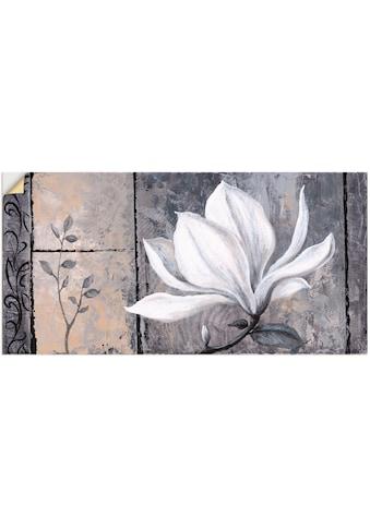 Artland Wandbild »Klassische Magnolie«, Blumen, (1 St.), in vielen Grössen &... kaufen
