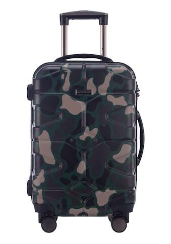 Hauptstadtkoffer Hartschalen-Trolley »X-Kölln, 58 cm, Camouflage«, 4 Rollen kaufen