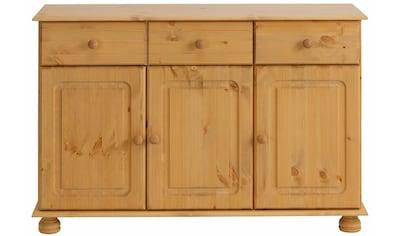 Home affaire Sideboard »Mette«, mit gefrästen, kugelförmigen Füssen, Breite 120 cm kaufen