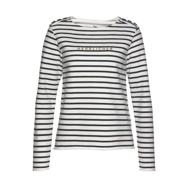 Herrlicher Sweatshirt »BIRGET«
