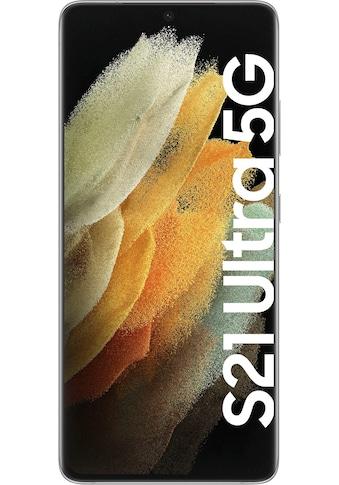 """Samsung Smartphone »Samsung Galaxy S21 Ultra«, (17,3 cm/6,8 """" 128 GB Speicherplatz, 108 MP Kamera) kaufen"""