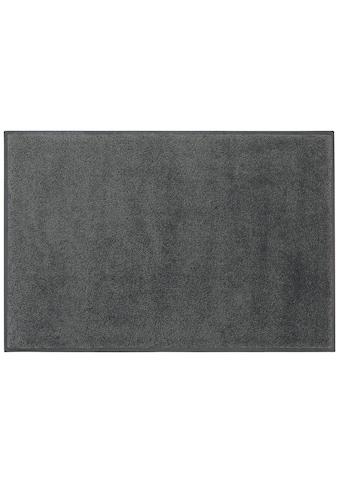 DELAVITA Fussmatte »Lavea«, rechteckig, 9 mm Höhe, Schmutzmatte, Uni Schmutzfangmatte,... kaufen