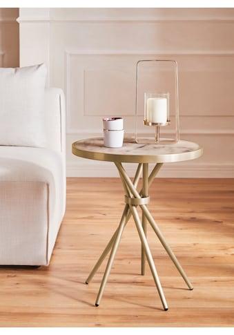 Guido Maria Kretschmer Home&Living Beistelltisch »Marble«, Beistelltisch in modernem Design kaufen