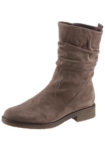 Gabor Stiefel, mit modischen Raffungen kaufen