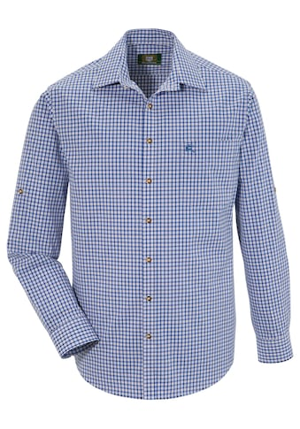 OS - Trachten Trachtenhemd im modischem Karodesign kaufen