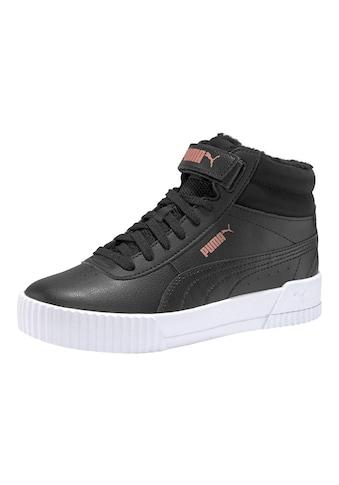 PUMA Sneaker »Carina Mid FUR Jr« kaufen