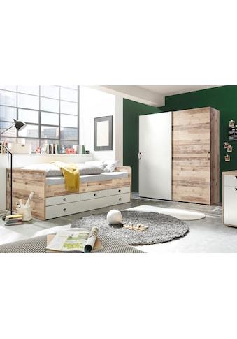 Bett »Leni«, mit 3 Schubkästen und ausziehbarer Liegefläche kaufen