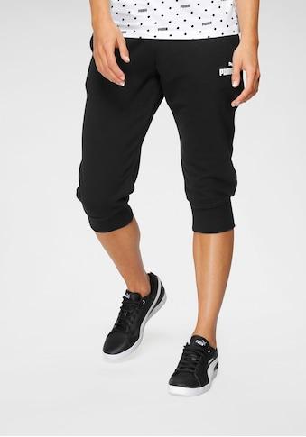 PUMA Caprihose »ESS Capri Sweatpants TR« kaufen