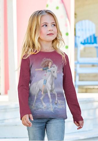 Miss Melody Langarmshirt, mit schönem Pferdemotiv kaufen