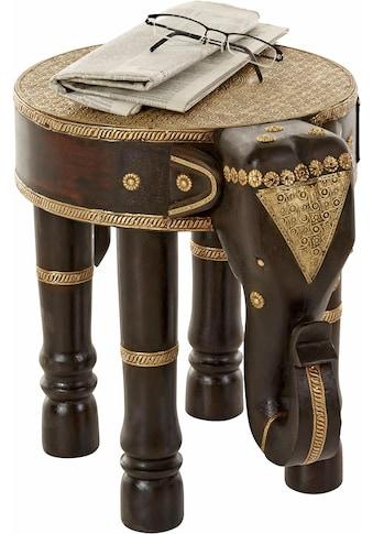 Home affaire Beistelltisch »Elefant« kaufen