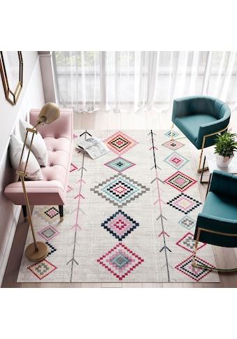 Teppich, »Bodrum Native«, CosmoLiving by Cosmopolitan, rechteckig, Höhe 8 mm, maschinell gewebt kaufen