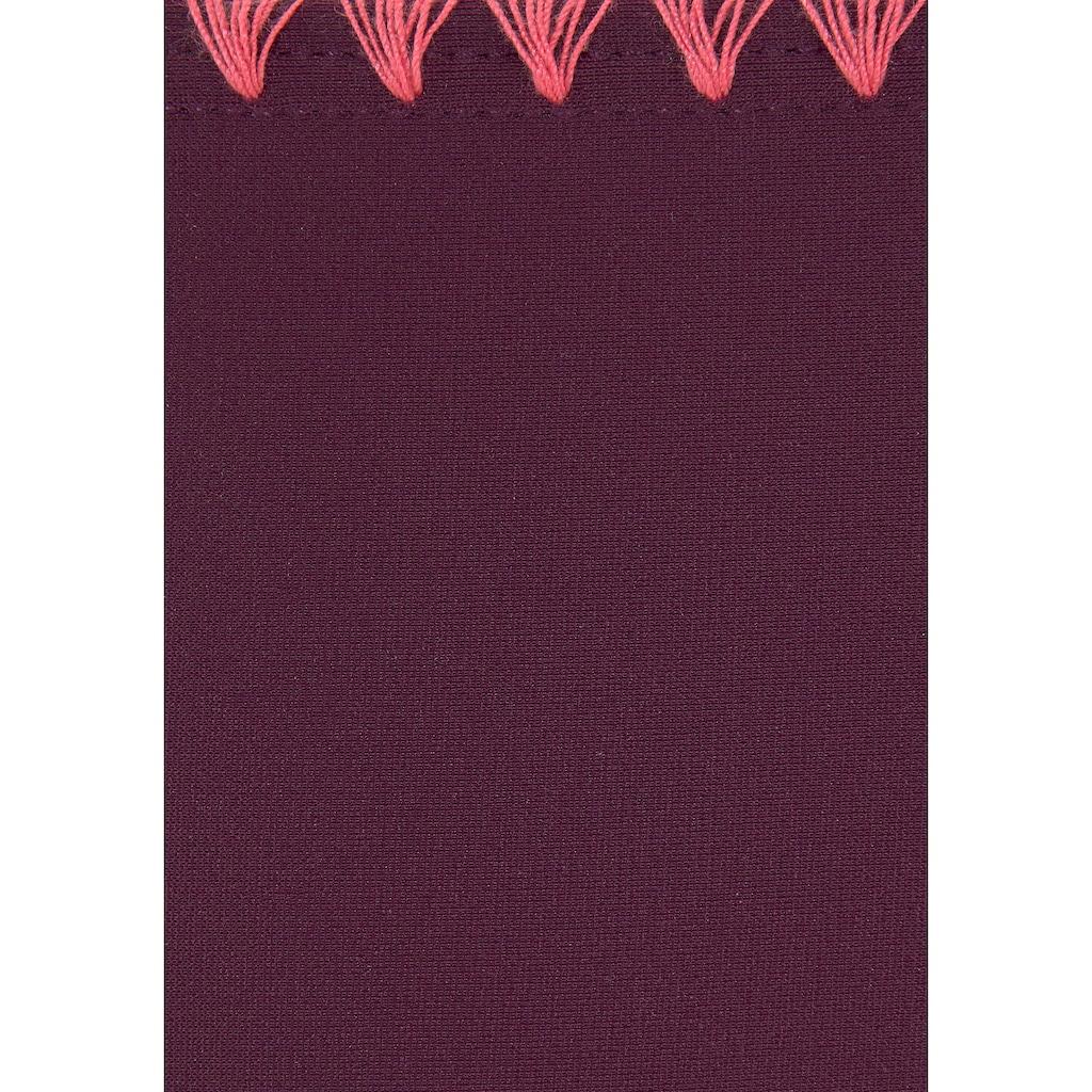 Buffalo Push-Up-Bikini, mit Häkelkante