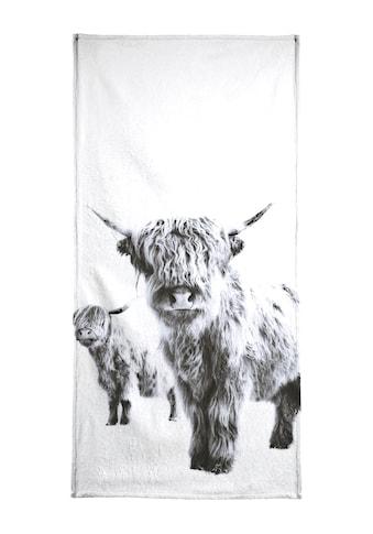 """Handtuch """"Highland Cows"""", Juniqe kaufen"""
