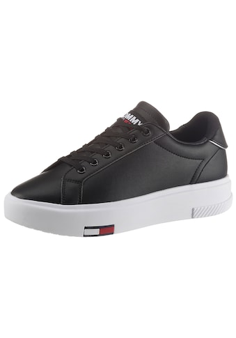 Tommy Jeans Plateausneaker »TOMMY JEANS FASHION CUPSOLE«, mit Logoflag in der Laufsohle kaufen