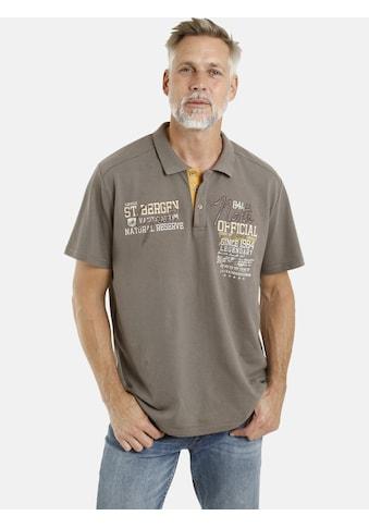Jan Vanderstorm Poloshirt »FLEMING«, reine Baumwolle, Comfort Fit kaufen