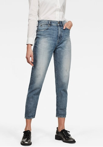 G-Star RAW Ankle-Jeans »Janeh Ultra High Mom Ankle Jeans«, abgerundete Passe hinten u.... kaufen
