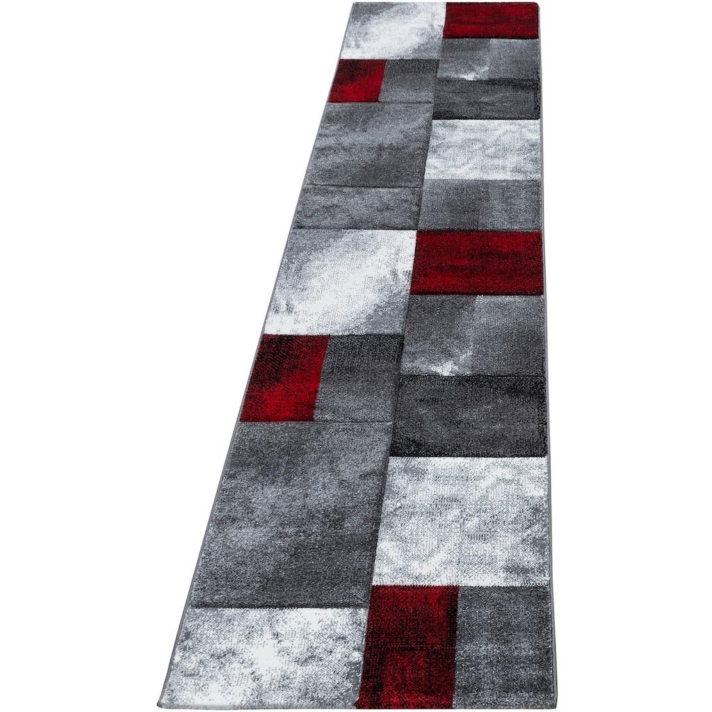Ayyildiz Läufer »Hawaii 1710«, rechteckig, 13 mm Höhe, handgearbeiteter Konturenschnitt, 80cm x 300cm (BxL)