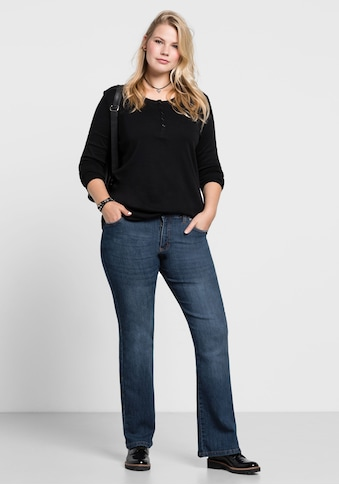 Sheego Bootcut-Jeans, MAILA in Bootcut-Form kaufen