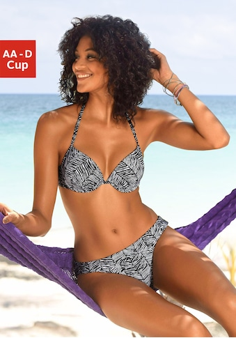 Venice Beach Push-Up-Bikini-Top »Sugar«, mit abstraktem Animalprint kaufen